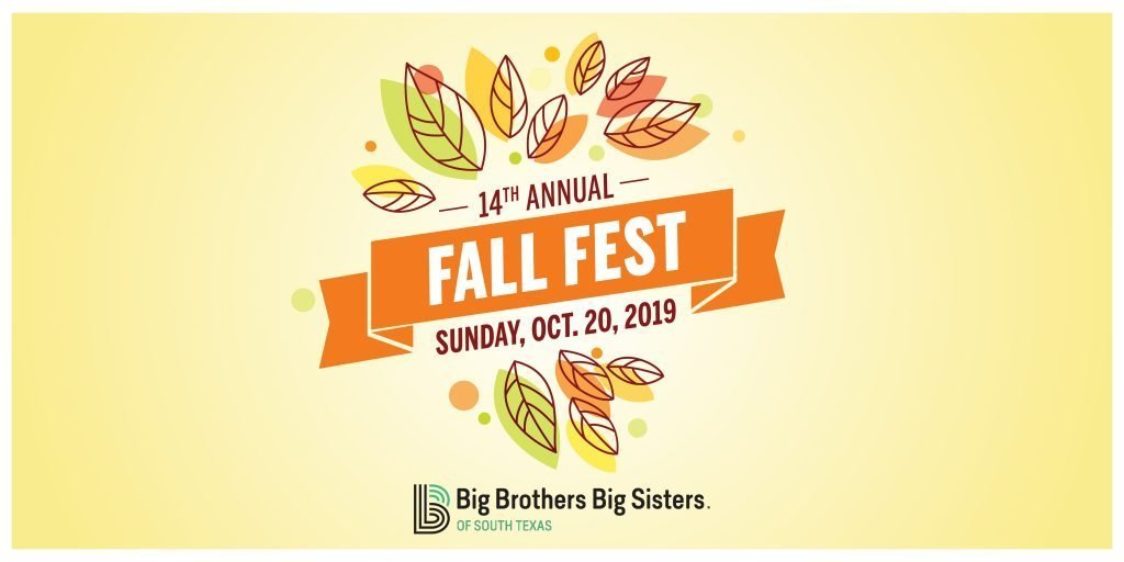 Big Brothers Big Sisters 14th annual fall festival graphic