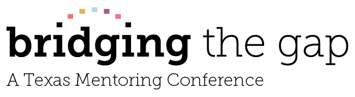 2019 Bridging the Gap: A Texas Mentoring Conference Logo