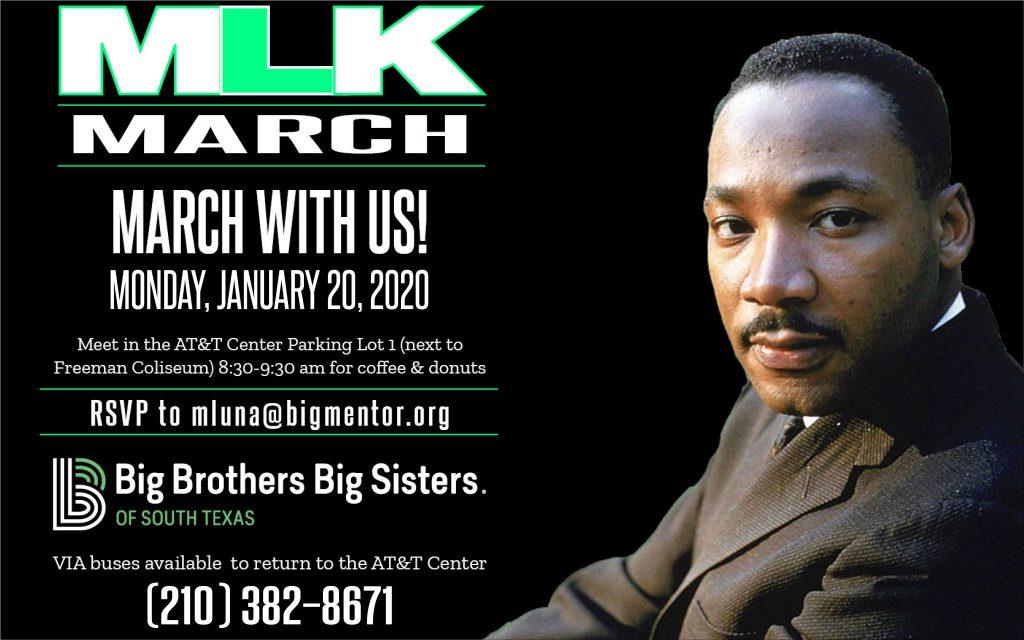MLK March Monday January 20, 2020.
